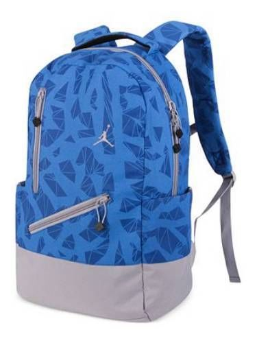 f1a5c8f1aa0f Nike  Nike Air Jordan Backpack Bag Laptop Tablet Black Blue Gray Women Girl  School  Nike