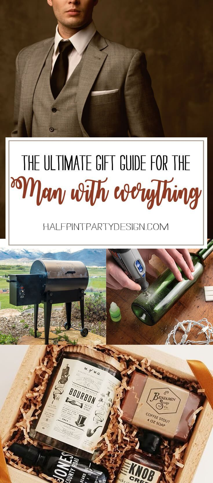 Ultimate Gift Guide for the Man who has Everything