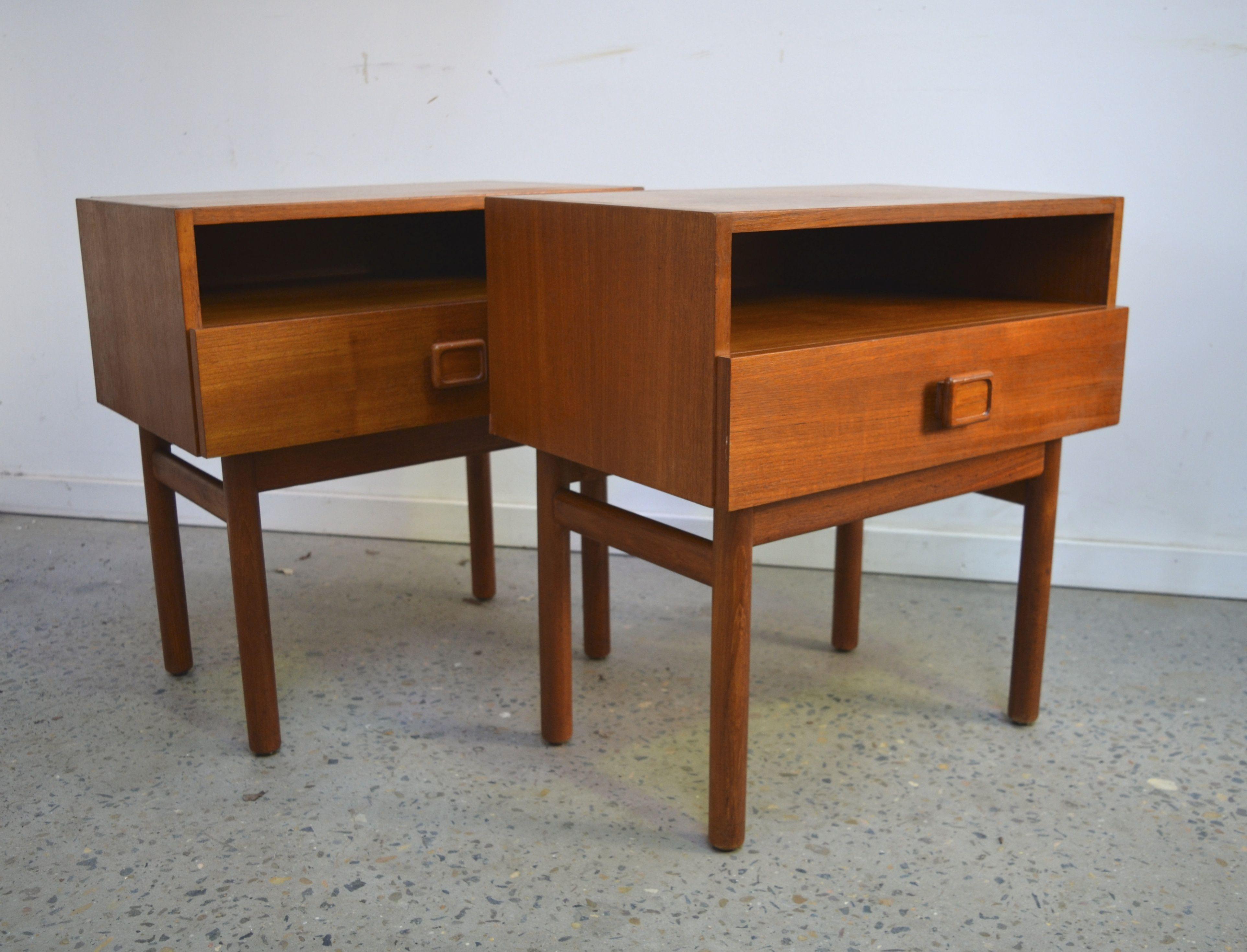Parker Bedside Tables Www Tangerineandteal Com Parker Furniture Mid Century Danish Furniture Danish Furniture Design
