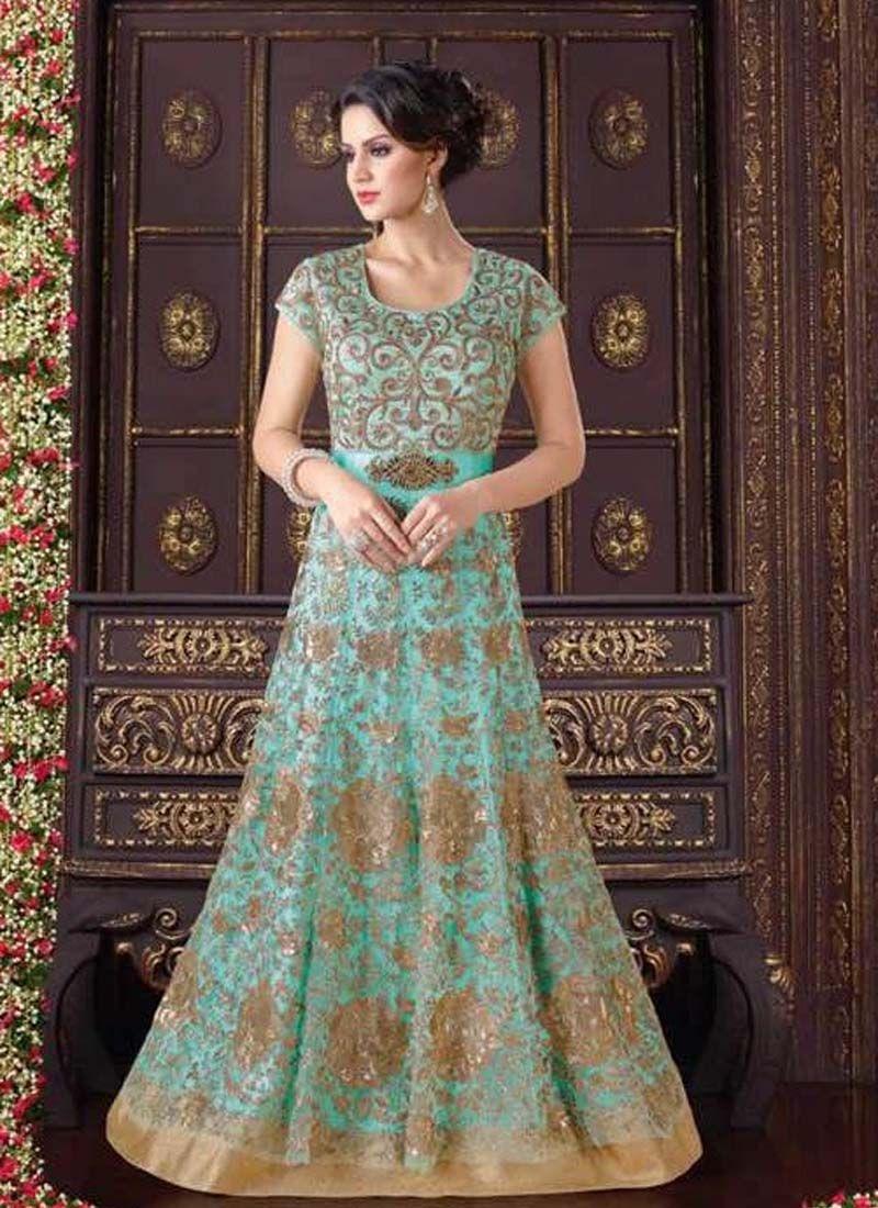 f2251575123678 Heavy Embroidered Partywear Salwar Suit 7 Days Easy Return, Buy Designer  Salwar Kameez, Silk Salwar Kameez, Wedding Gown etc.