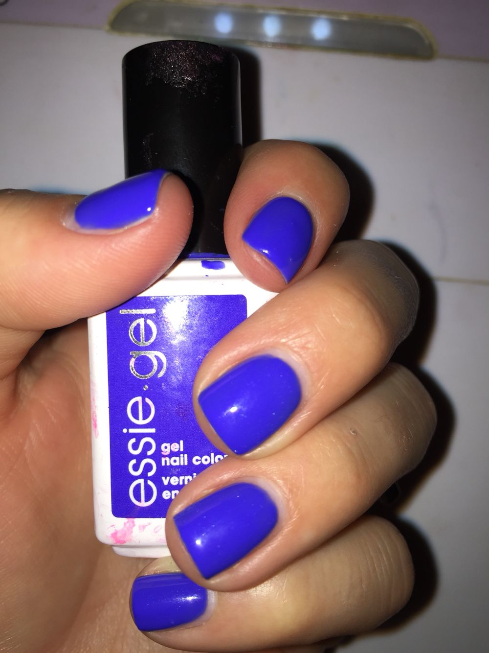 Essie Gel Nail Color In Valet To My Chalet Dupe For Essie Butler Please Gel Nail Polish