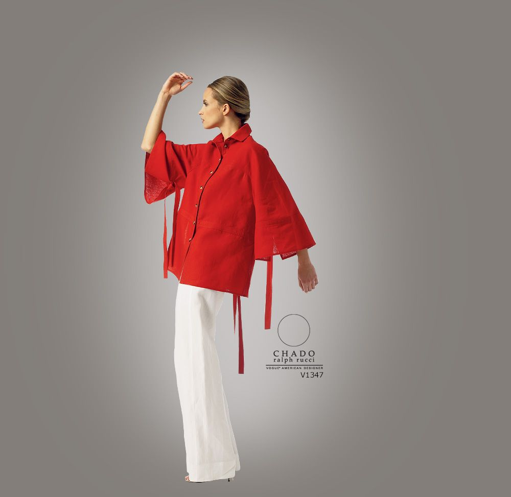 Sewing Patterns | Vogue Patterns  V1347 - Chado Ralph Rucci