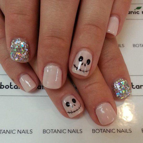 50 cool halloween nail art ideas nail nail makeup and hair makeup 50 cool halloween nail art ideas prinsesfo Choice Image