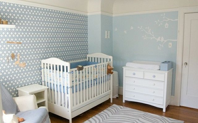 Chambre bébé - bien choisir les couleurs | Motif hexagonal, Papier ...