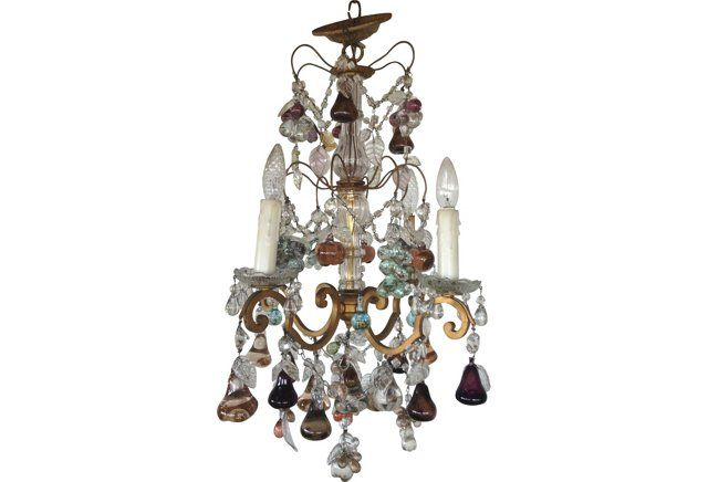 Italian Murano Fruit Chandelier Chandeliers – Fruit Chandelier