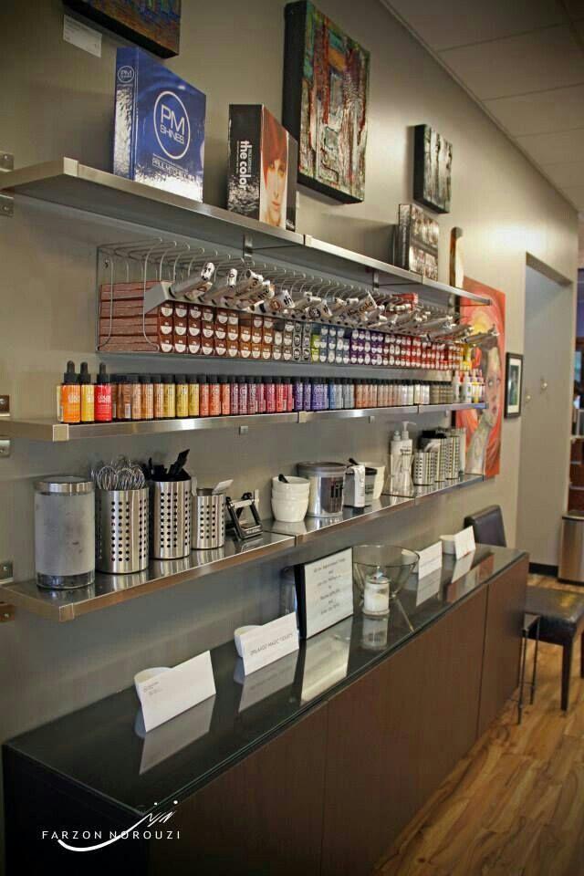 Pin By Marlee Shaw On Fabulous Salon Decor Salon Suites Decor Salon Color Bar