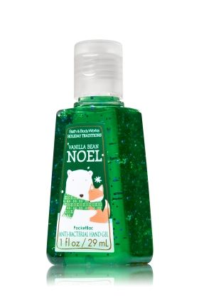 Vanilla Bean Noel Pocketbac Sanitizing Hand Gel Bath Body