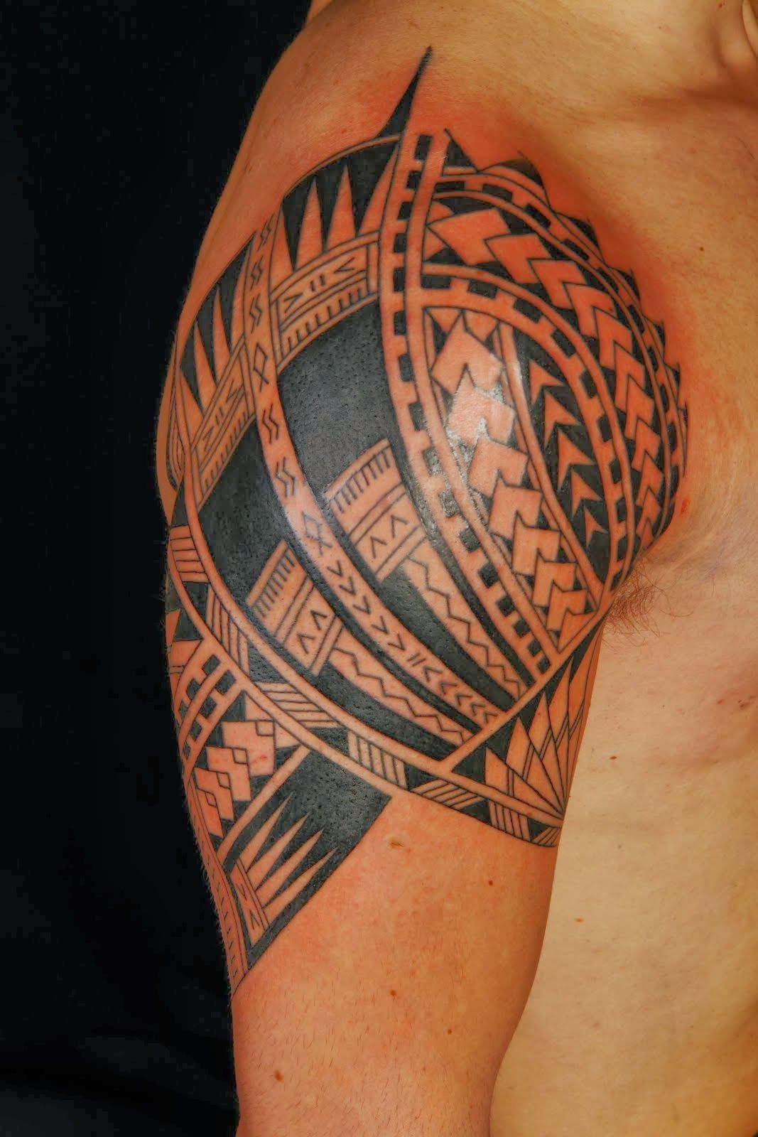 Polynesian tattoo designs cool ideas designs - Samoan Tattoo Designs And Meanings Polynesian Tribal Tattoo Is One Of The Most Requested Tattoo Design