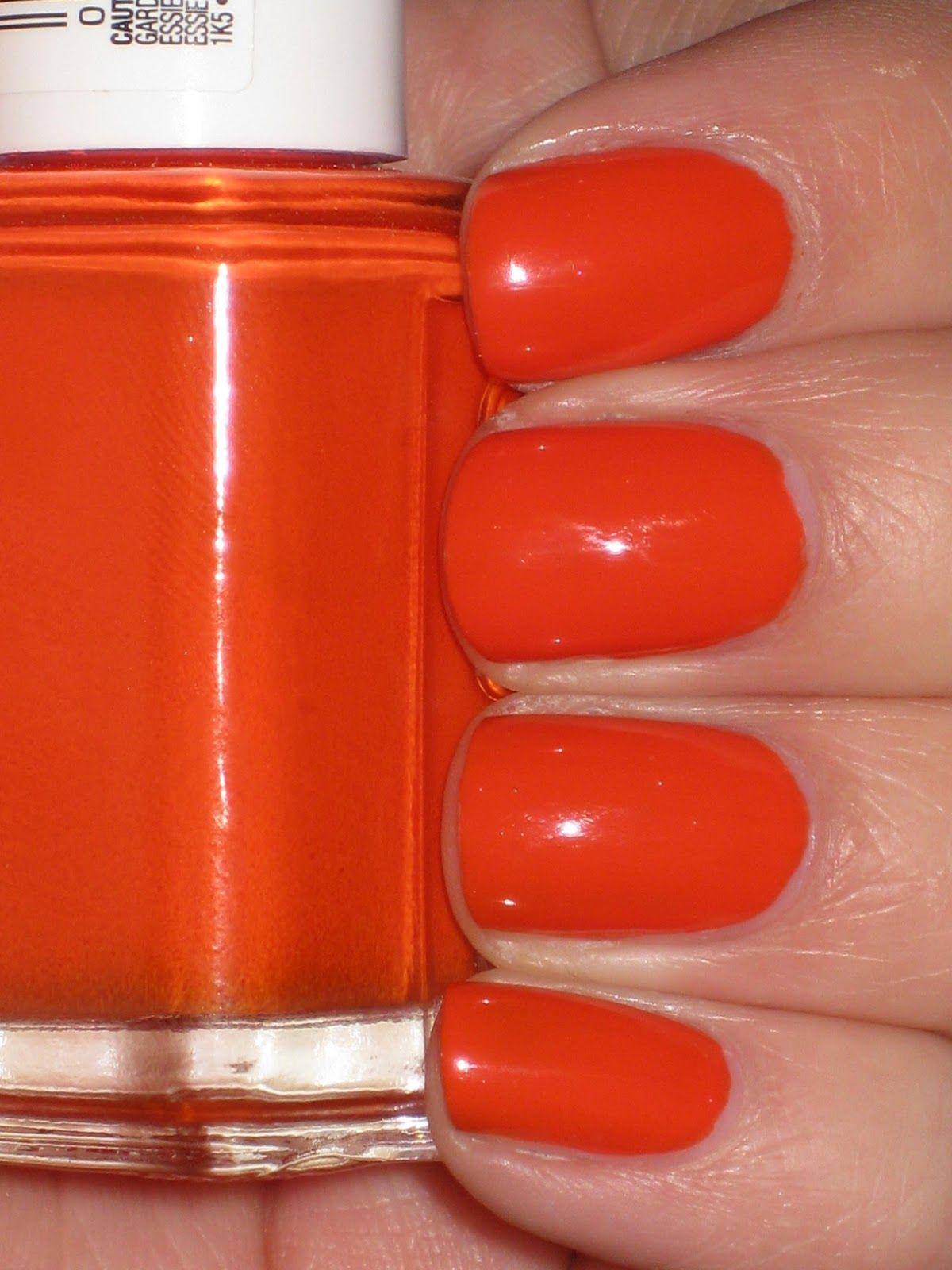 Essie - Orange It\'s Obvious | essie nail polish!!!1 | Pinterest ...