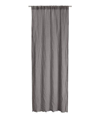 2 Pack Linen Curtains Product Detail H M With Images Linen