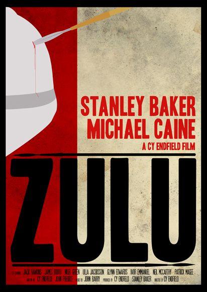 Zulu 1964 Minimal Movie Poster By Matt Needle Amusementphile