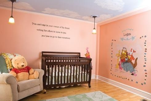 Winnie The Pooh Baby Room For Boy Girl Winnie The Pooh Nursery