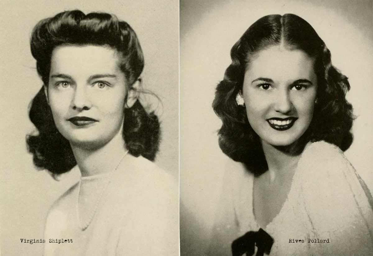 1940s College Girl Hairstyles Glamour Daze Vintage Hairstyles Vintage Hairstyles Tutorial 1940s Hairstyles