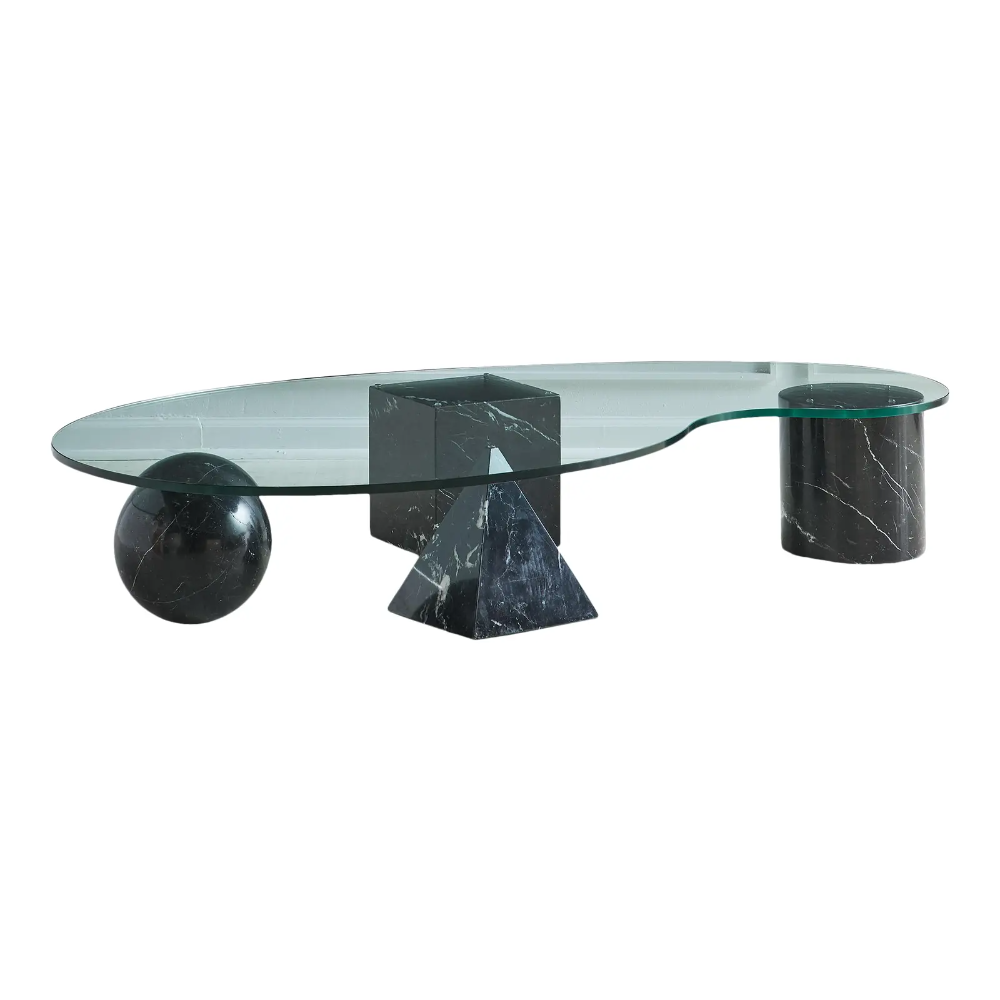 Massimo Vignelli Coffee Table In Nero Marquina With Kidney Shaped Glass Top Chairish Glass Top Coffee Table Nero Marquina [ 1000 x 1000 Pixel ]