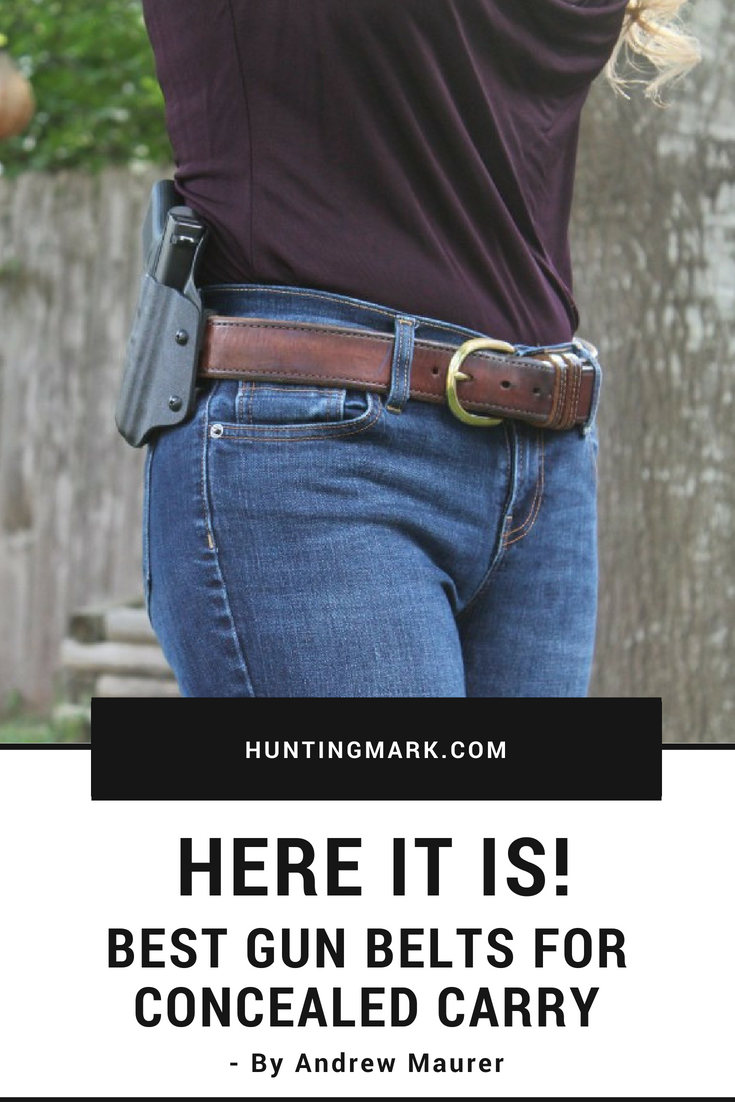 2436613b4290 7 Best Gun Belts For Concealed Carry And Formal Use  gun  belt  gunbelt   concealed  carry  concealcarry  concealedcarry  weapon  formal  pistol   handgun ...