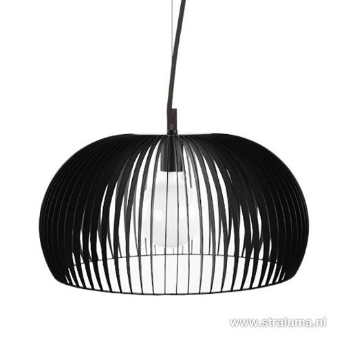 Zwarte scandinavische design hanglamp - www.straluma.nl ...