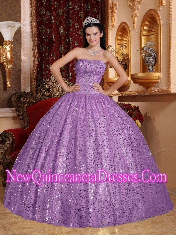 Sweet 15 Dress | Sweet 15 Dresses Purple Purple ball gown ...