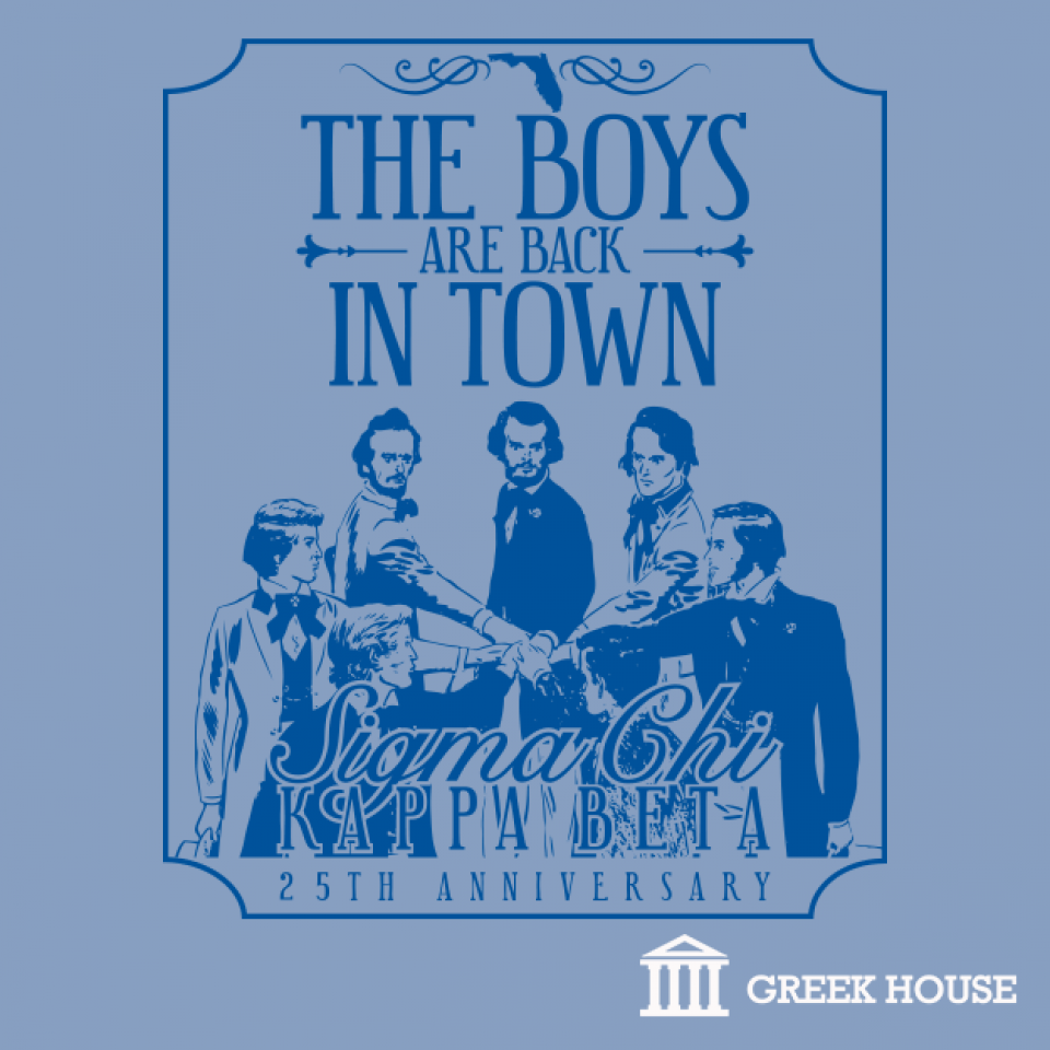 Design t shirt greek - Sigma Chi Founder S Day T Shirt Design Gallery Greek House Sigma Chi