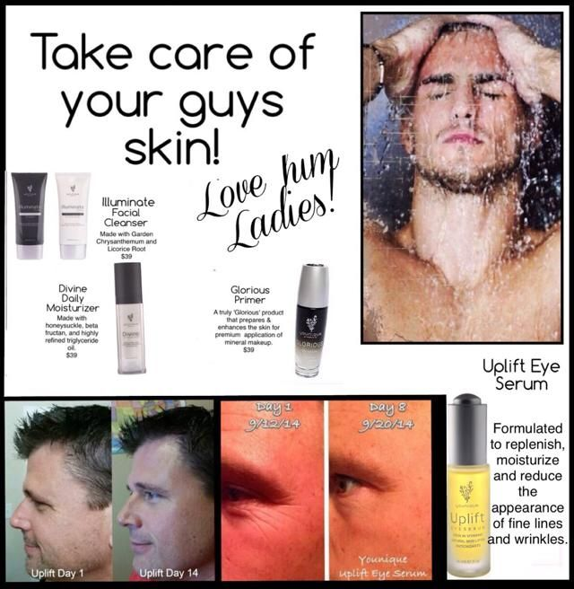 Facial skin care for boys