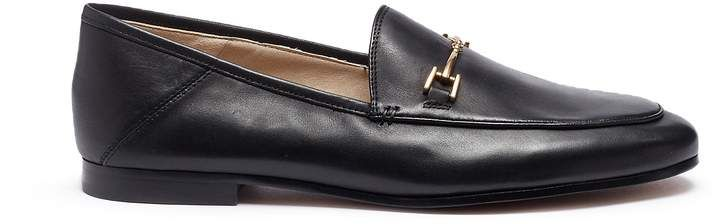 ad5822d45abb  Loraine  horsebit leather step-in loafer  pair shoes refer.