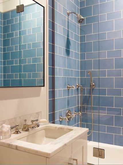 Exceptionnel 14 Inspiring Blue Bathroom Designs For Cozy Home