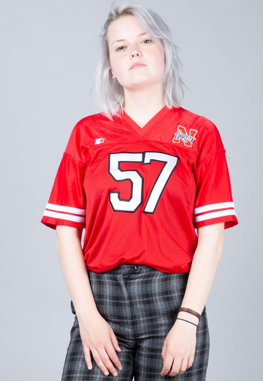 90's Starter Huskers American Football Jersey | Square Eight ...