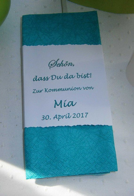 2 x Band for Napkin (40 x 40 cm) #foldingnapkins