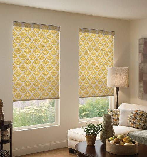 Roller Blinds That Look Like Space : Boutique dwell roller shades bold colors and living spaces