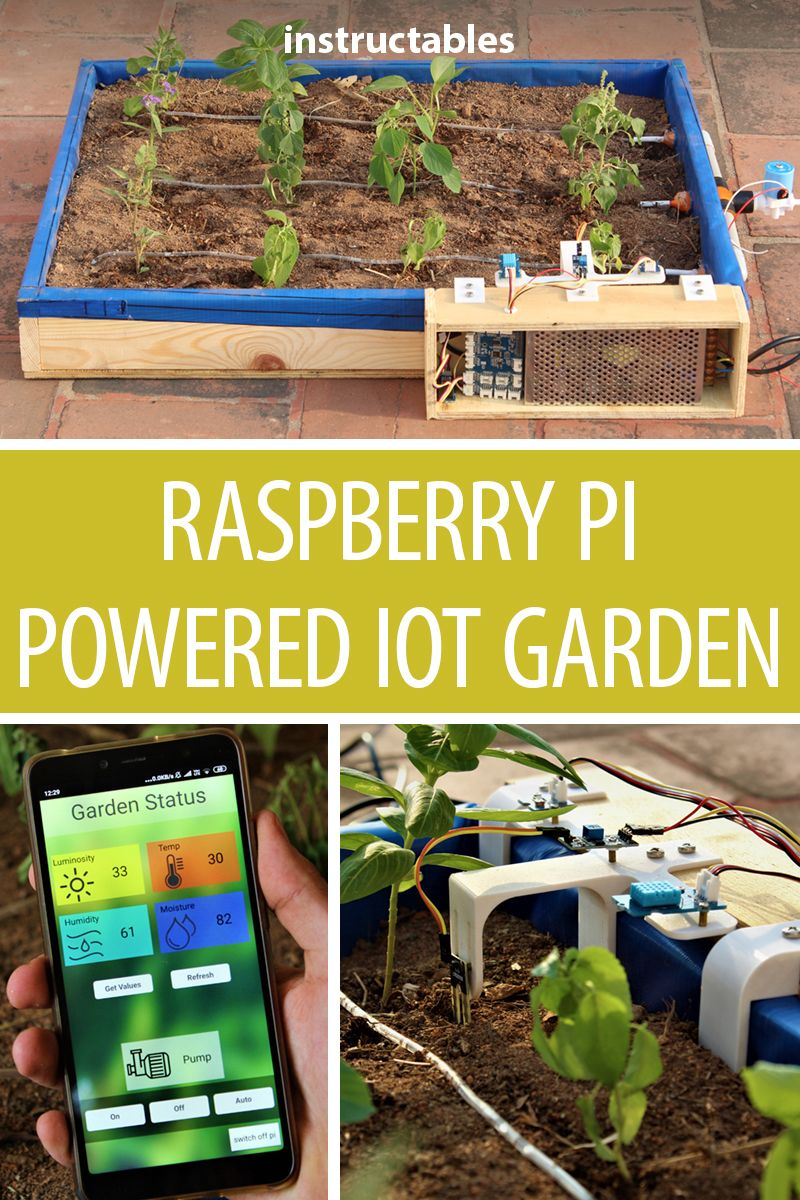 Raspberry Pi Powered IOT Garden | Raspberry Pi | Raspberry