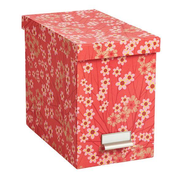 Decorative File Storage Boxes With Lids Get Organize Home Office Edition  Organize With Style