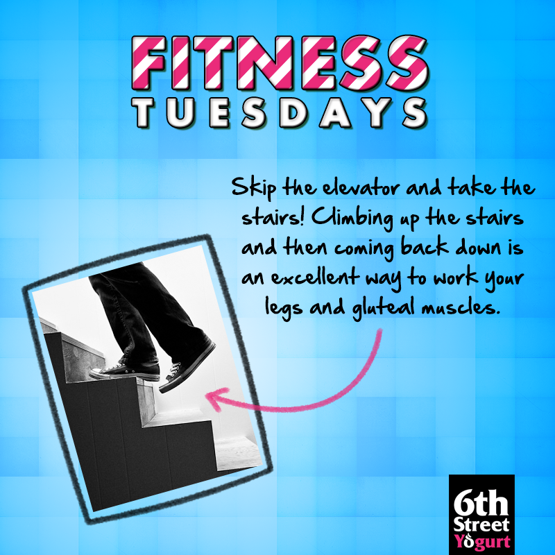 #FitnessTuesday : Take the #stairs instead of the #elevator!