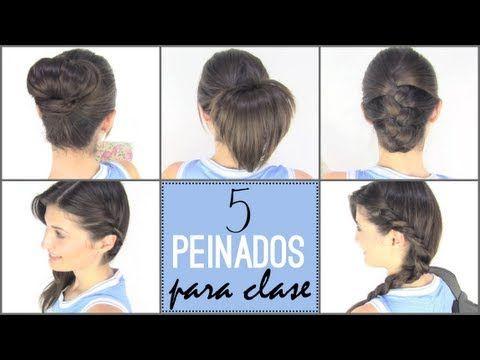 5 peinados para ir a clase. 5 back to school hairstyles