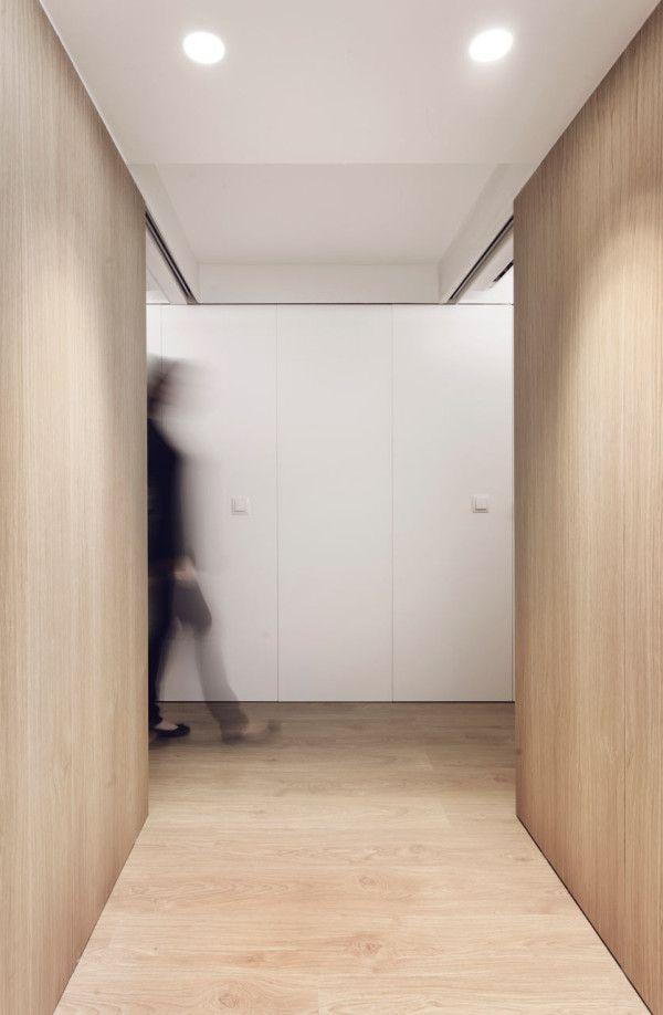 Modern White And Wood Spanish Apartment Spanish Apartment