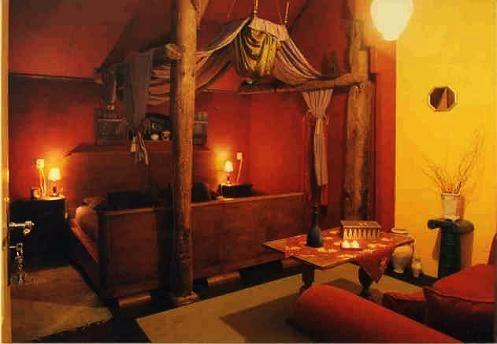 sprookjeshotel Drenthe. in deze kamer sliepen we.