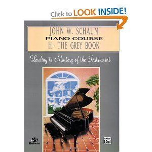 John W Schaum Piano Course H The Grey Book Amazonco