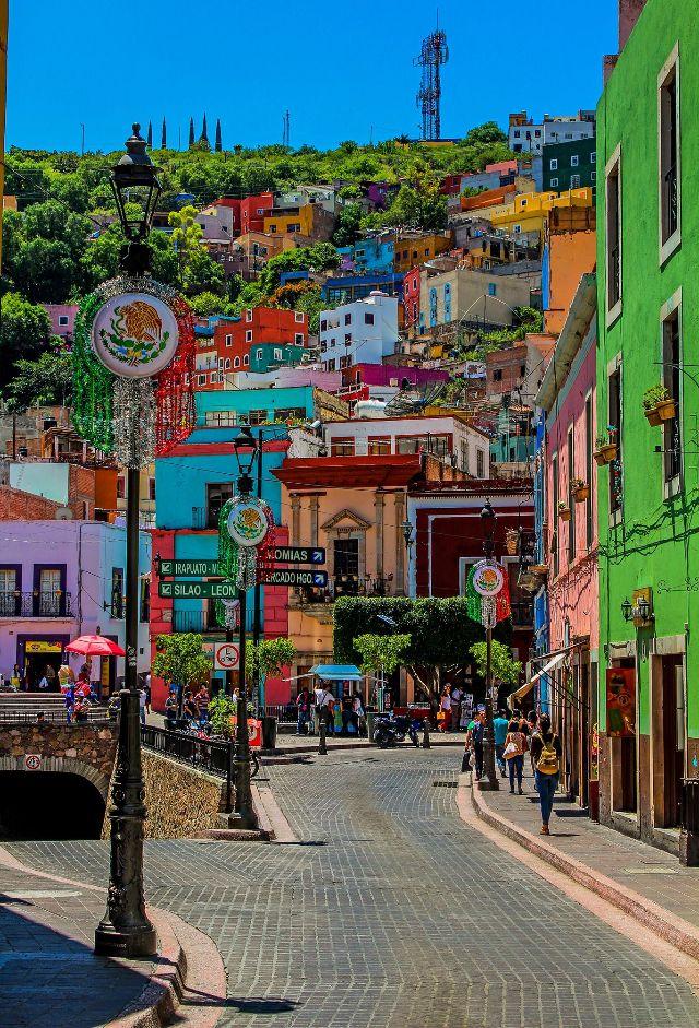 Guanajuato Lugares Hermosos De Mexico Lugares Magicos De Mexico Lugares Hermosos