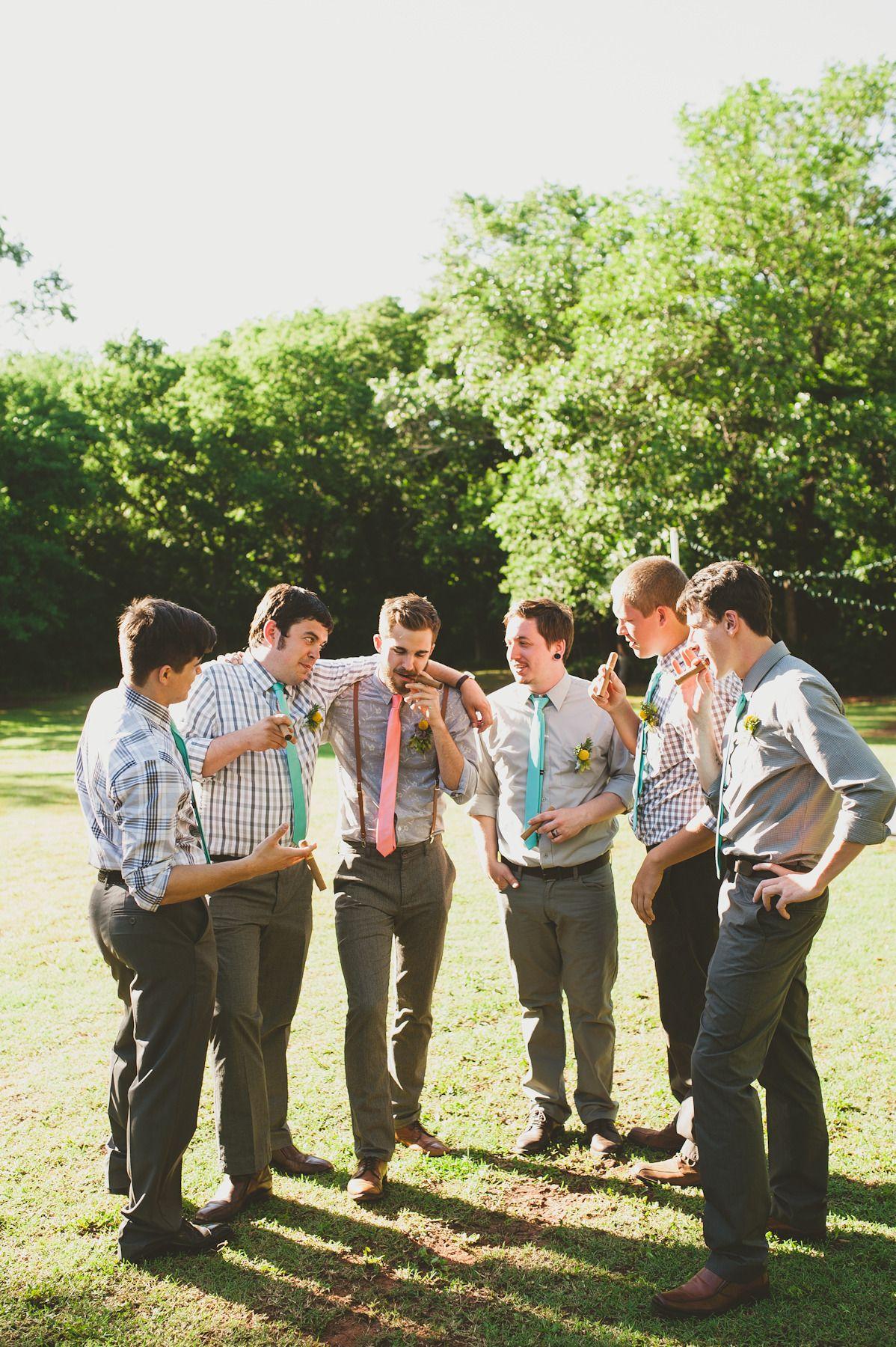 Earthy Summer Backyard Wedding | Casual wedding attire ...