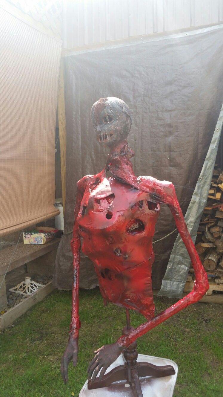 Mr.fleshy Halloween props diy, Halloween props