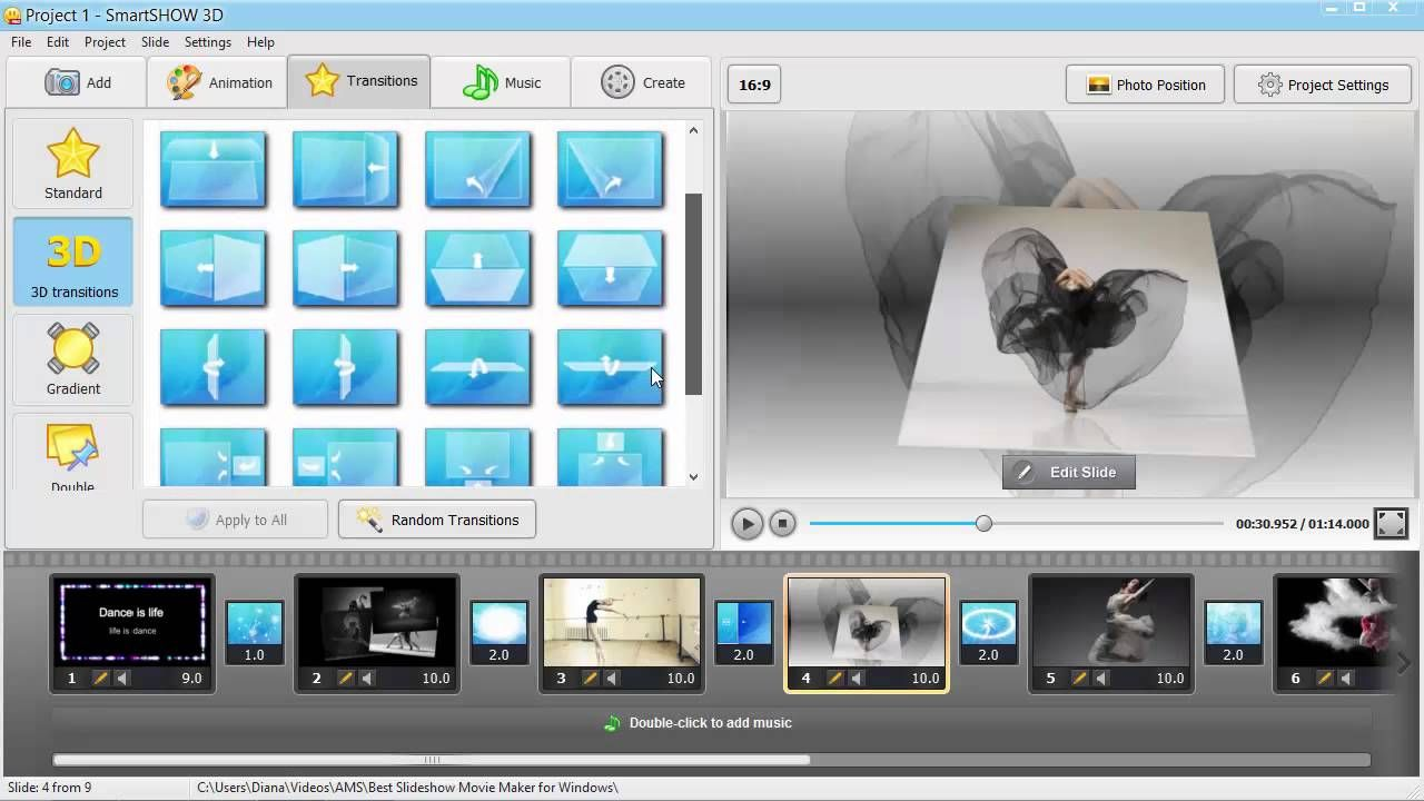 The Best Slideshow Movie Maker For Windows Is Surely Http Smartshow Software Com Make Stunning Animated Photo Movies With This U Music Photo Photo Slideshow