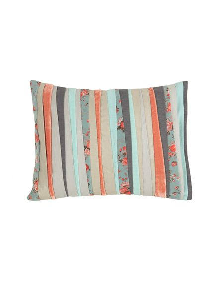Jubilee Multi textured pillow fro Blissliving Home
