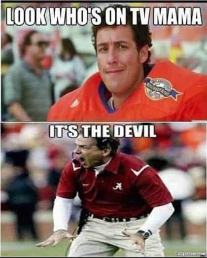 Alabama Memes Football Funny College Football Memes Alabama Football Funny