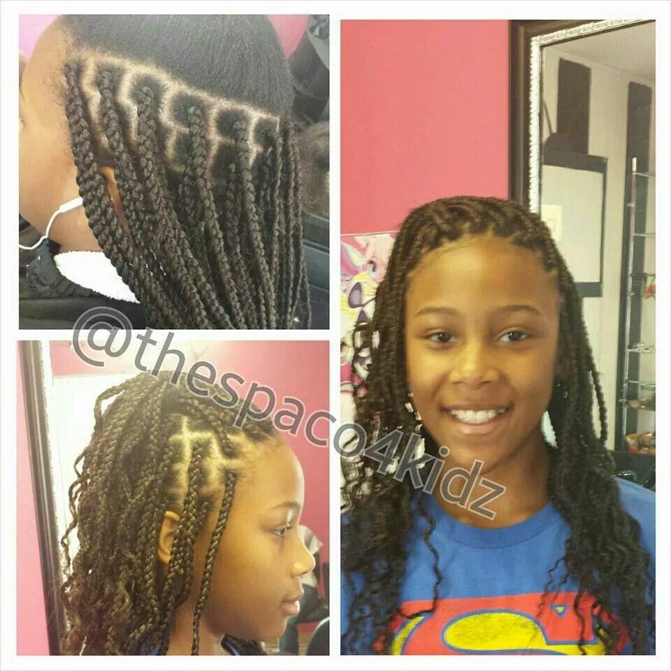 individual braids | kids natural hairstyles | individual