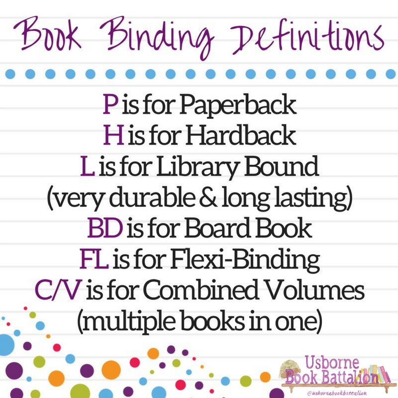 Usborne Book Binding Definitions Usbornebookbattalion Com Find Me On Facebook Youtube Instagram Usborne Books Consultant Usborne Books Usborne Books Party