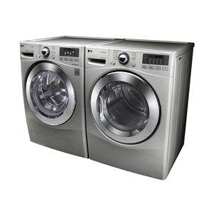 lg appliances frontload washer u0026 dryer set