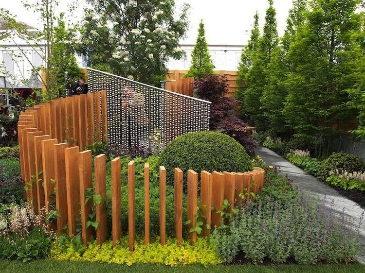 l\'aménagement de jardins paysagers modernes avec une ...