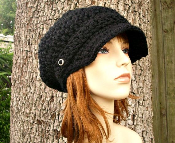Knitted Newsboy Cap Pattern Sewing