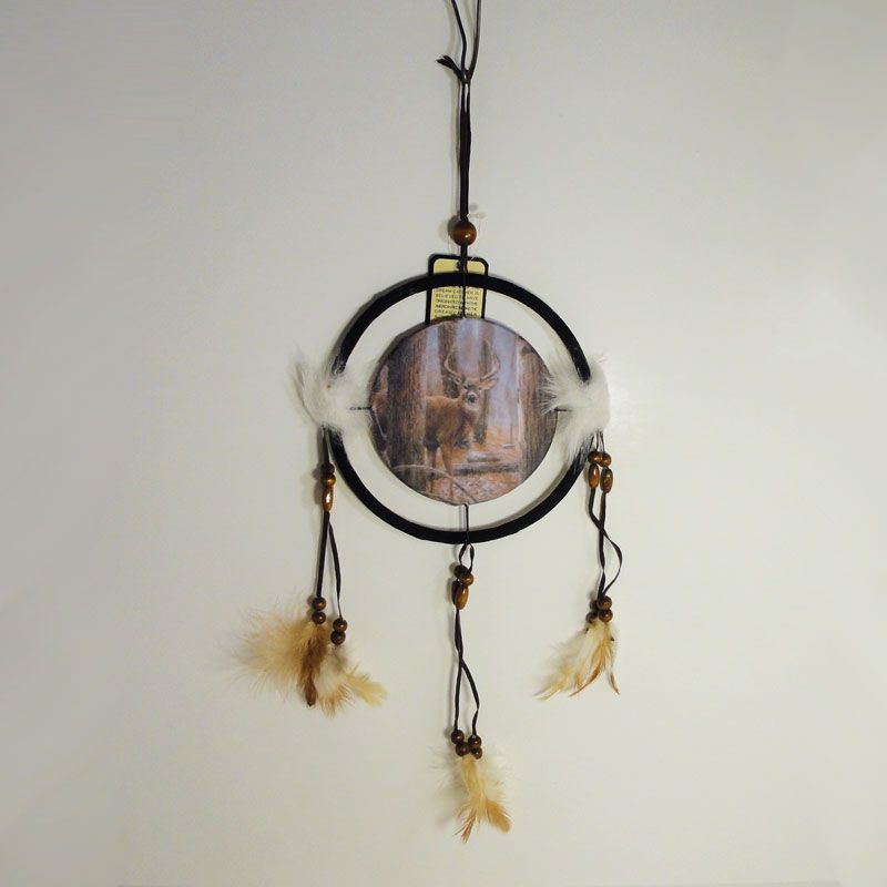 Small Dream Catchers For Sale Dreamcatcher Small Canvas Deer on Alert in the Woods FOR SALE 9