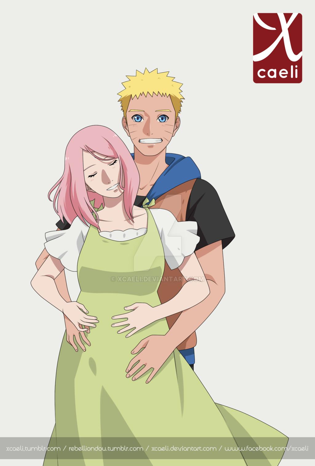 NS 002 by xCaeli   Narusaku, Uzumaki boruto, Naruto uzumaki