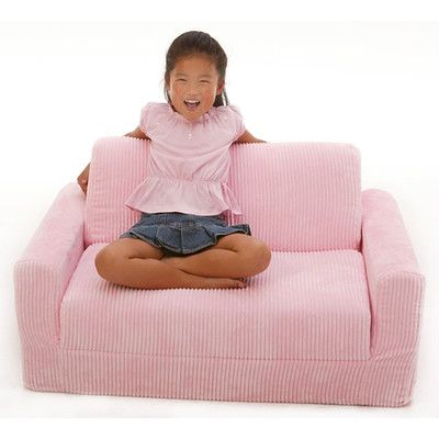 Fun Furnishings Childrens Sofa Sleeper Reviews Wayfair grand