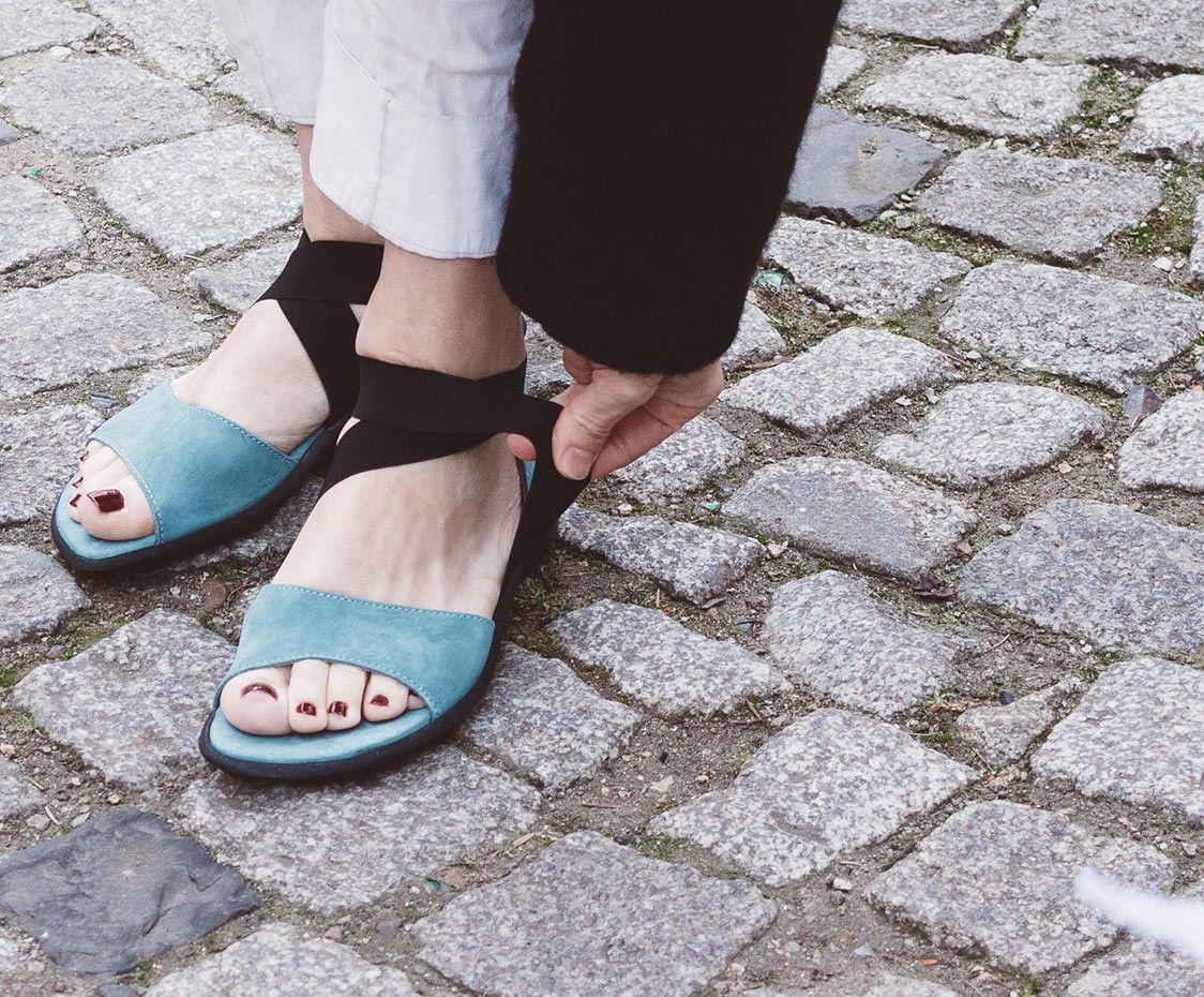 Arche Damen Sandale Satia hellgrün | Arche shoes, Slip on